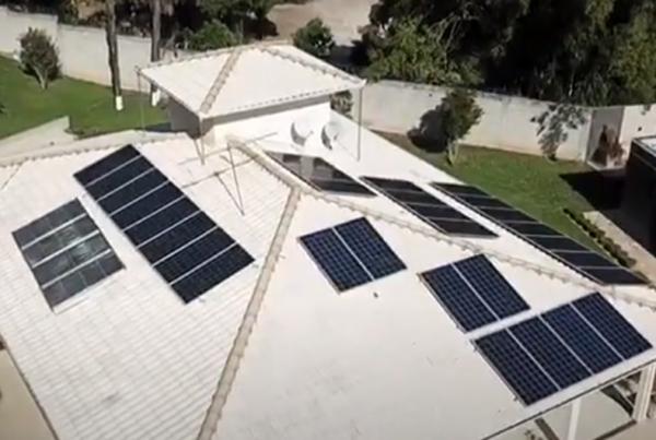 Cliente Residencial Cláudio Franco Jardim - Maya Energy